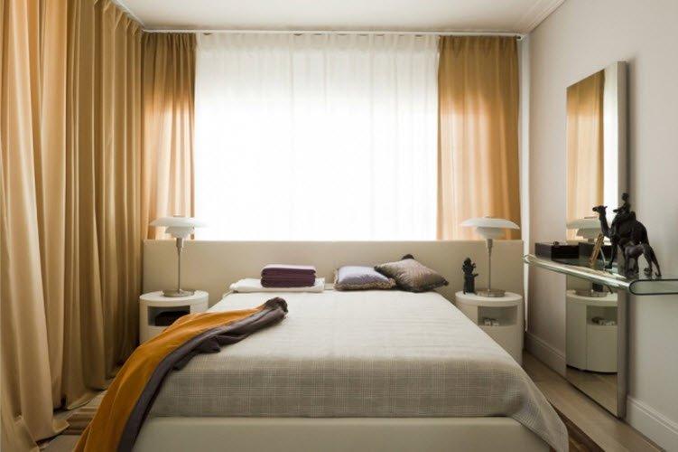 Спальня дизайн 8 метров
