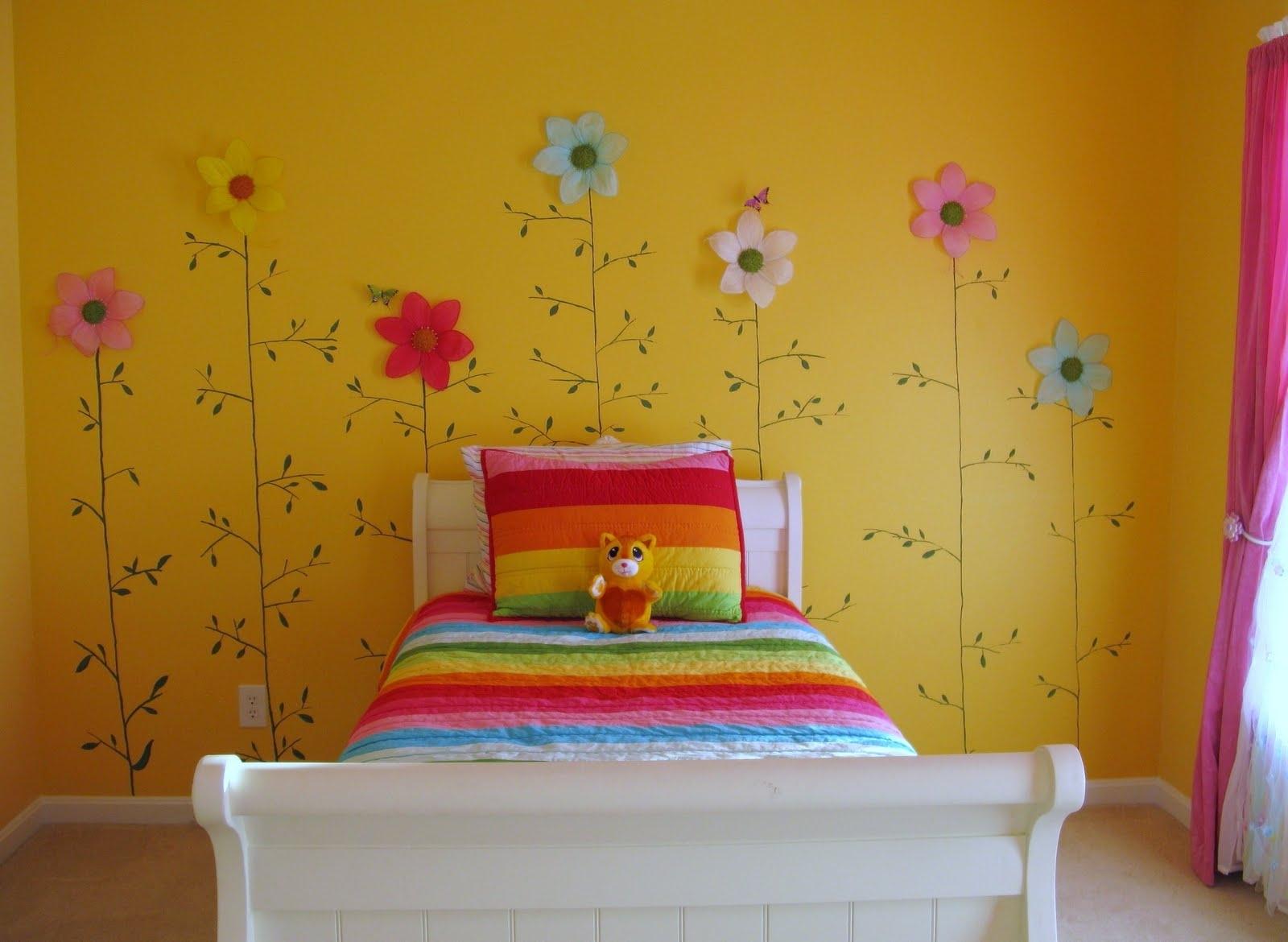Как своими руками украсить стену в комнате ребенка