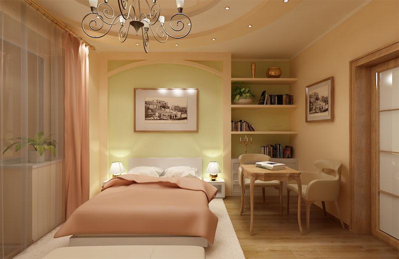Спальня 14 кв дизайн и