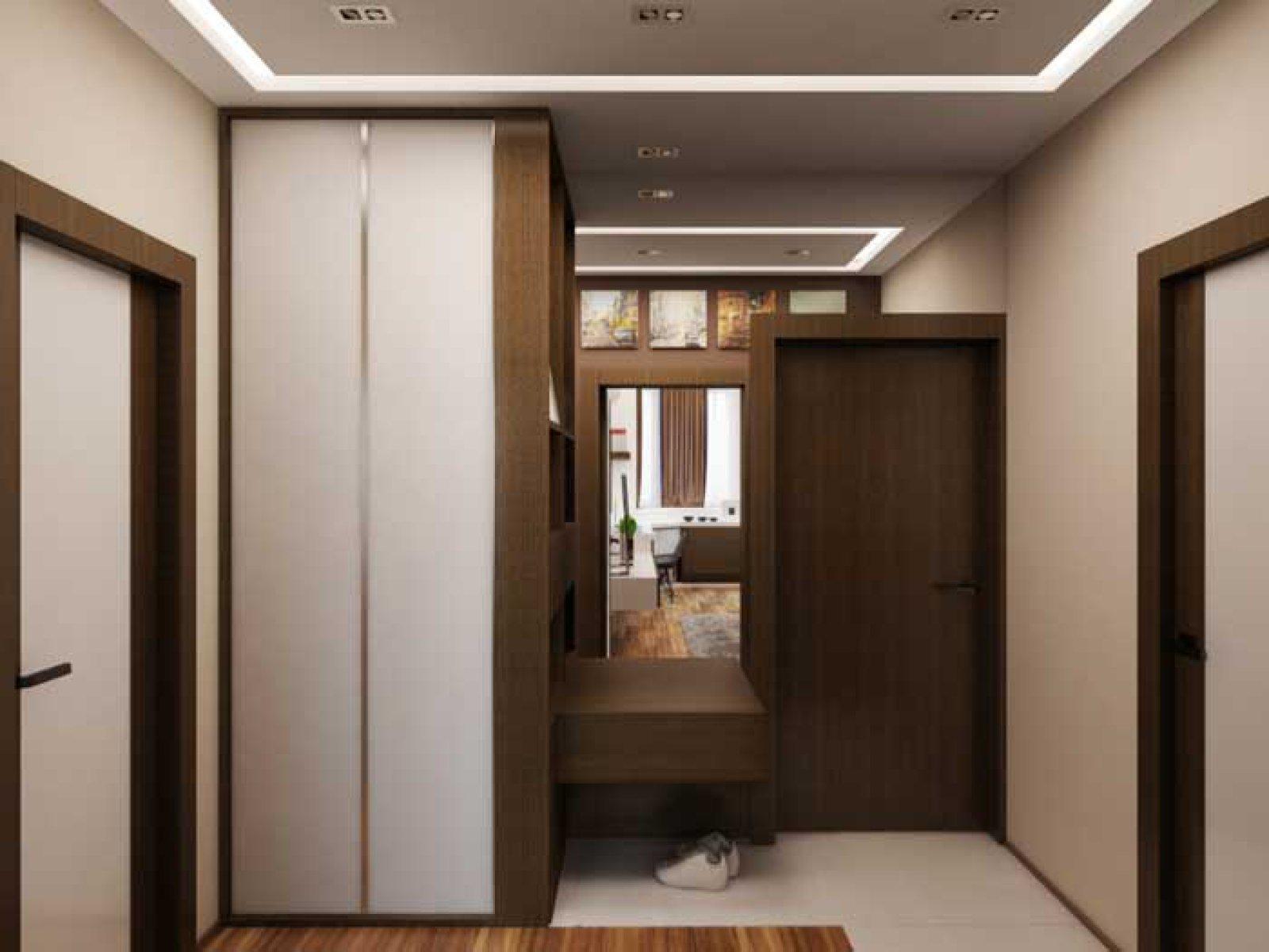 Дизайн маленькой прихожих в однокомнатной квартире