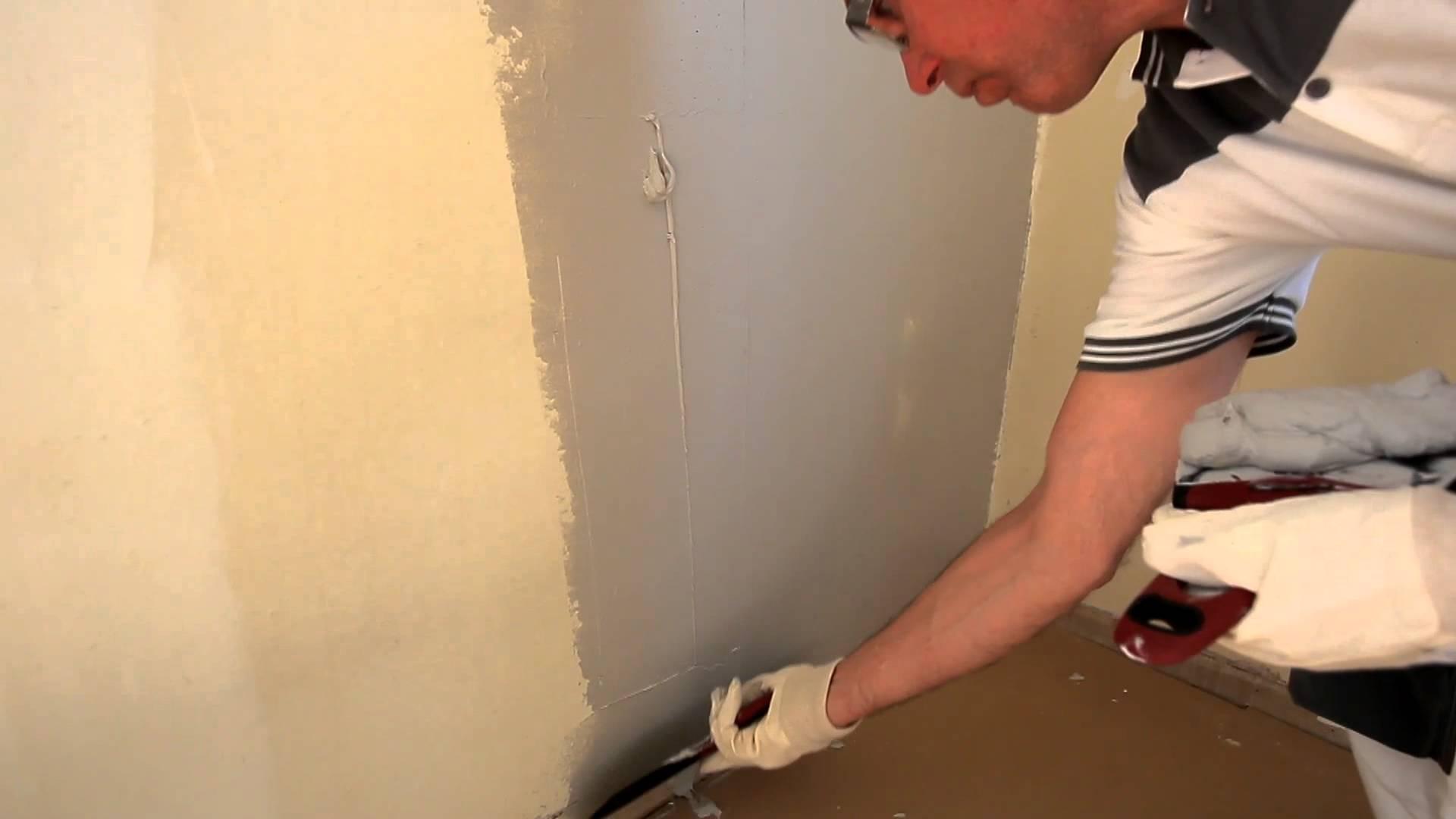Шпаклевка стен под обои своими руками пошагово фото