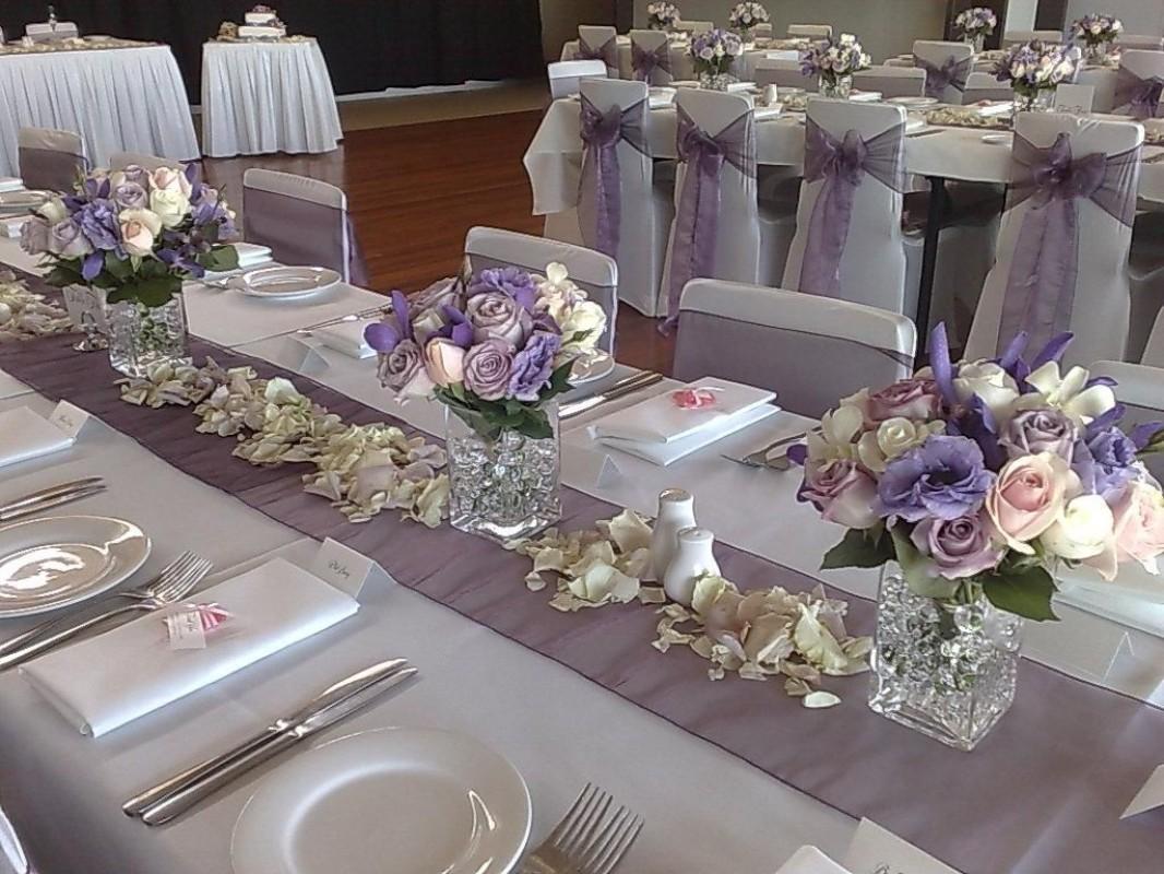 Как украсить свадебный стол фото своими руками