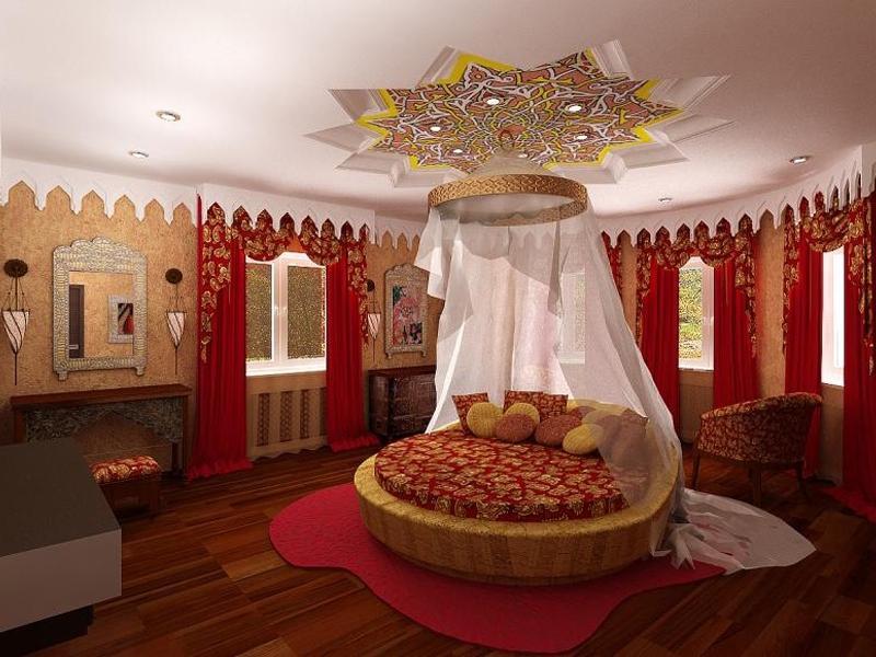 Как сделать комнату в восточном стиле