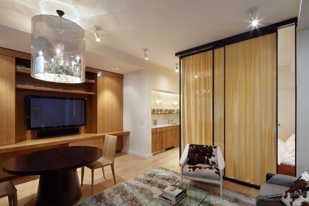 Дизайн квартир с передвижными перегородками