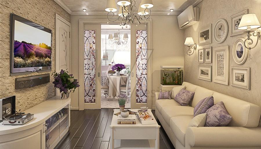 Интерьер в прованс стиле маленькая квартира в