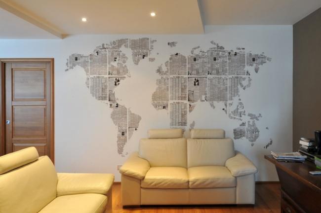 Дизайн квартиры своими руками из подручных материалов фото