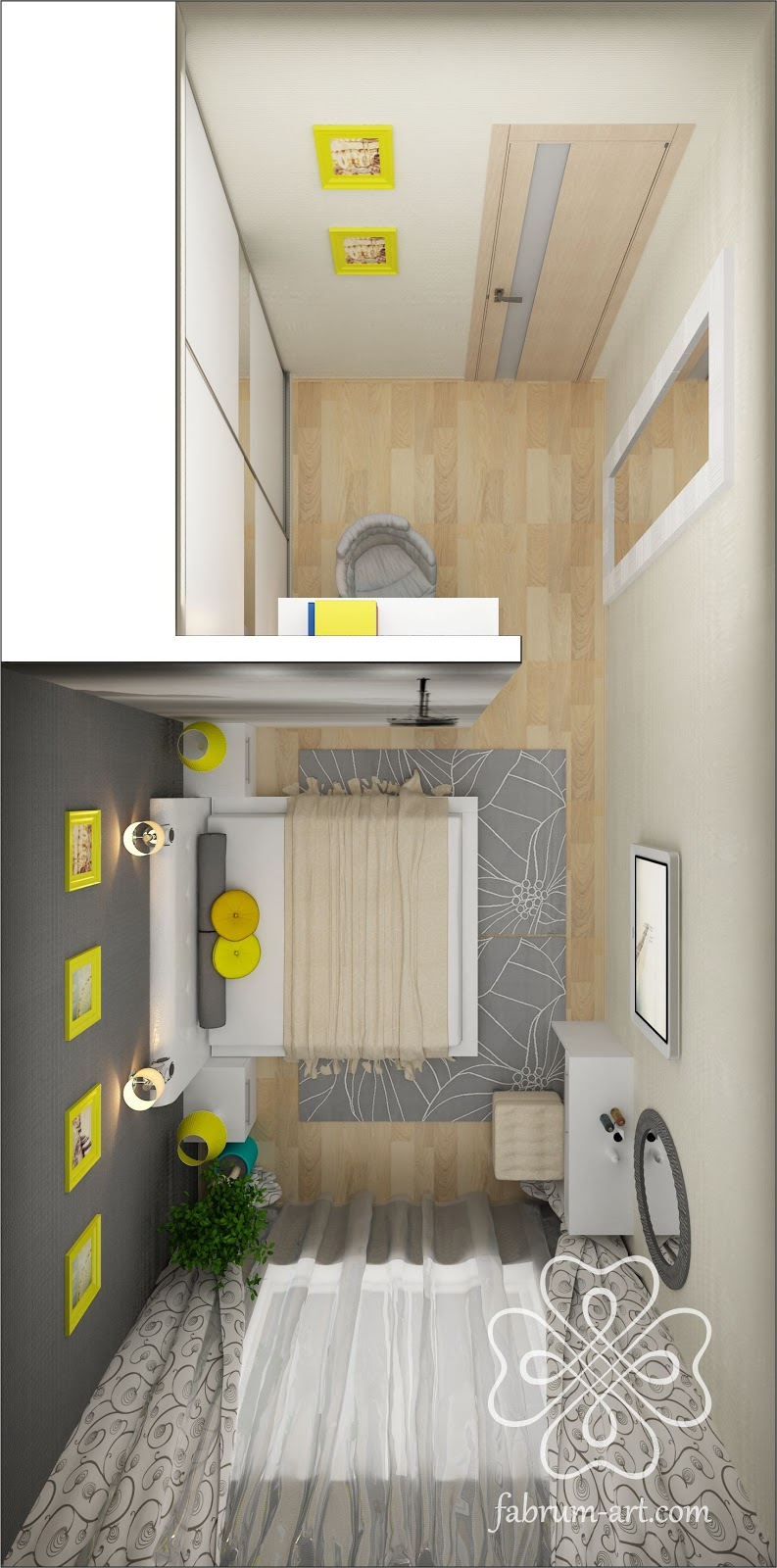 Дизайн 97 серия 1 комнатная