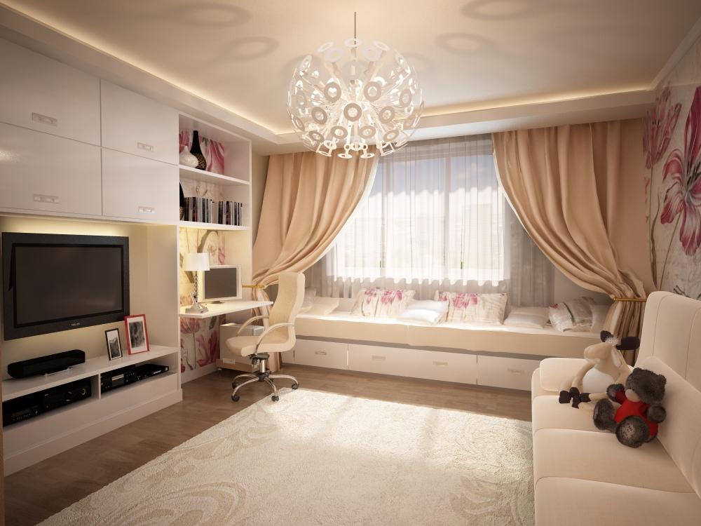 Фото интерьер 2 комнатной квартиры