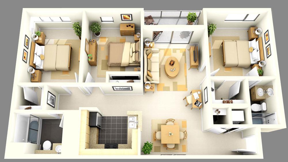 Как можно сделать планировку в своем доме