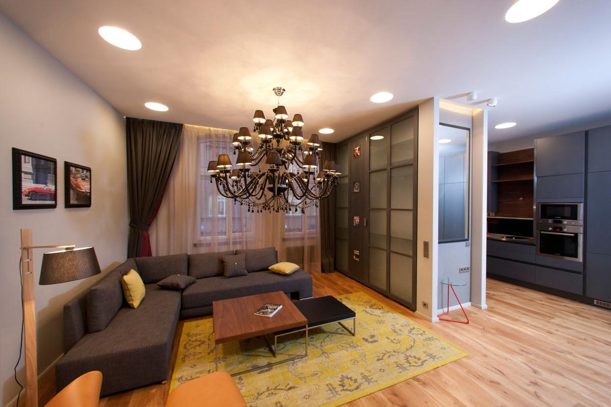 Хочу посмотреть дизайны однокомнатных квартир