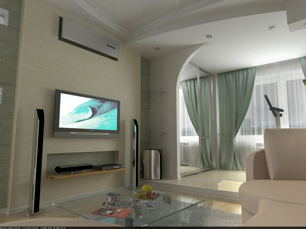 Дизайн для трехкомнатной квартиры