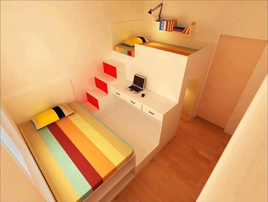 Интерьер дома для маленьких комнат