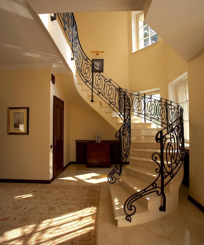 Красивые лестницы в частных домах дизайн