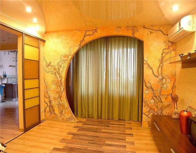 Как в квартире сделать стену красивой 798