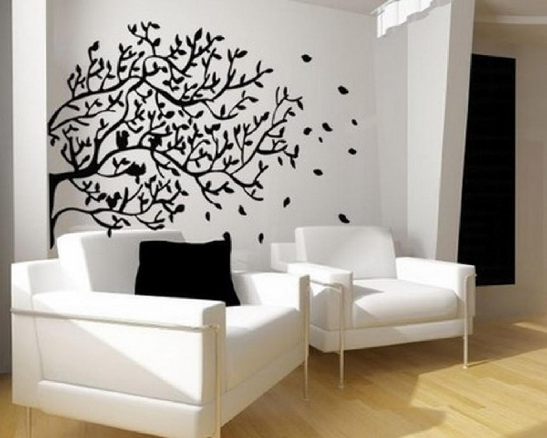 Рисунки на стенах своими руками фото