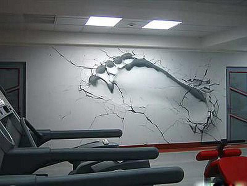 Кто нарисует 3d рисунок на стене
