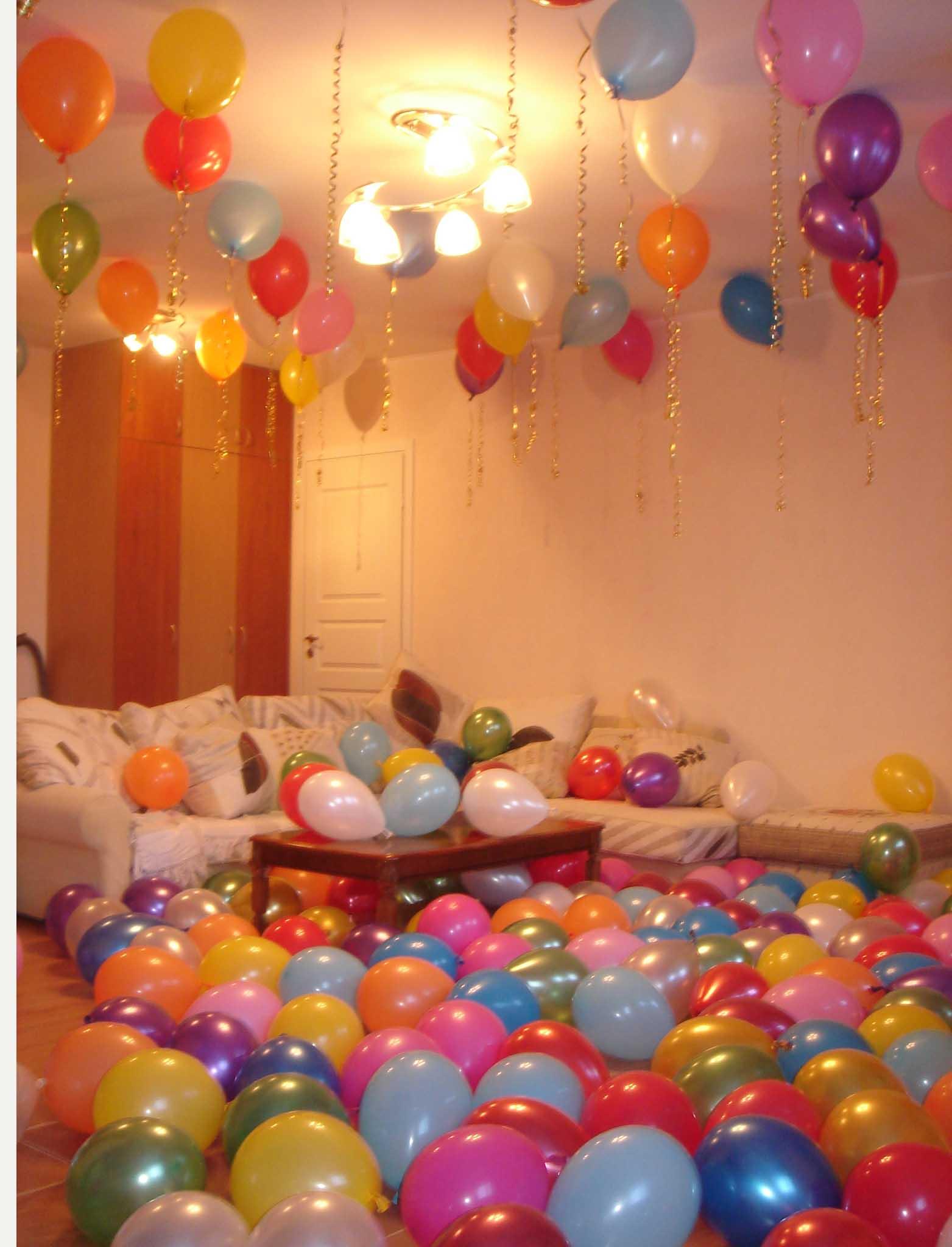 Украшение шариками своими руками на день рождения фото
