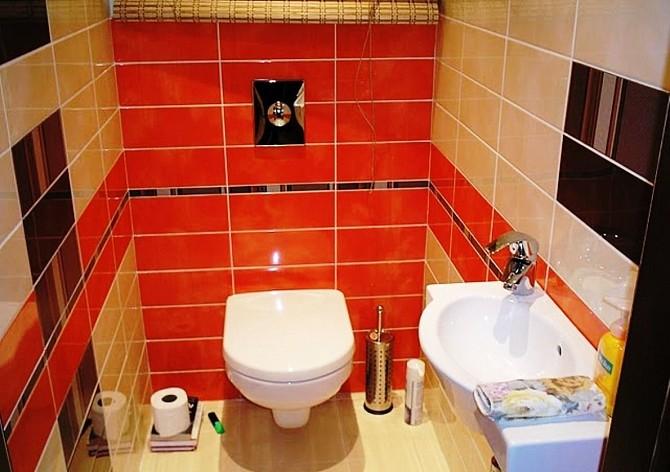 Фото по ремонту туалета ванны