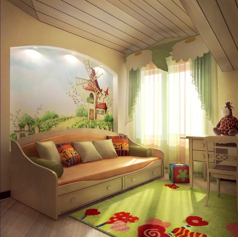 Фото дизайн и интерьер детской комнаты