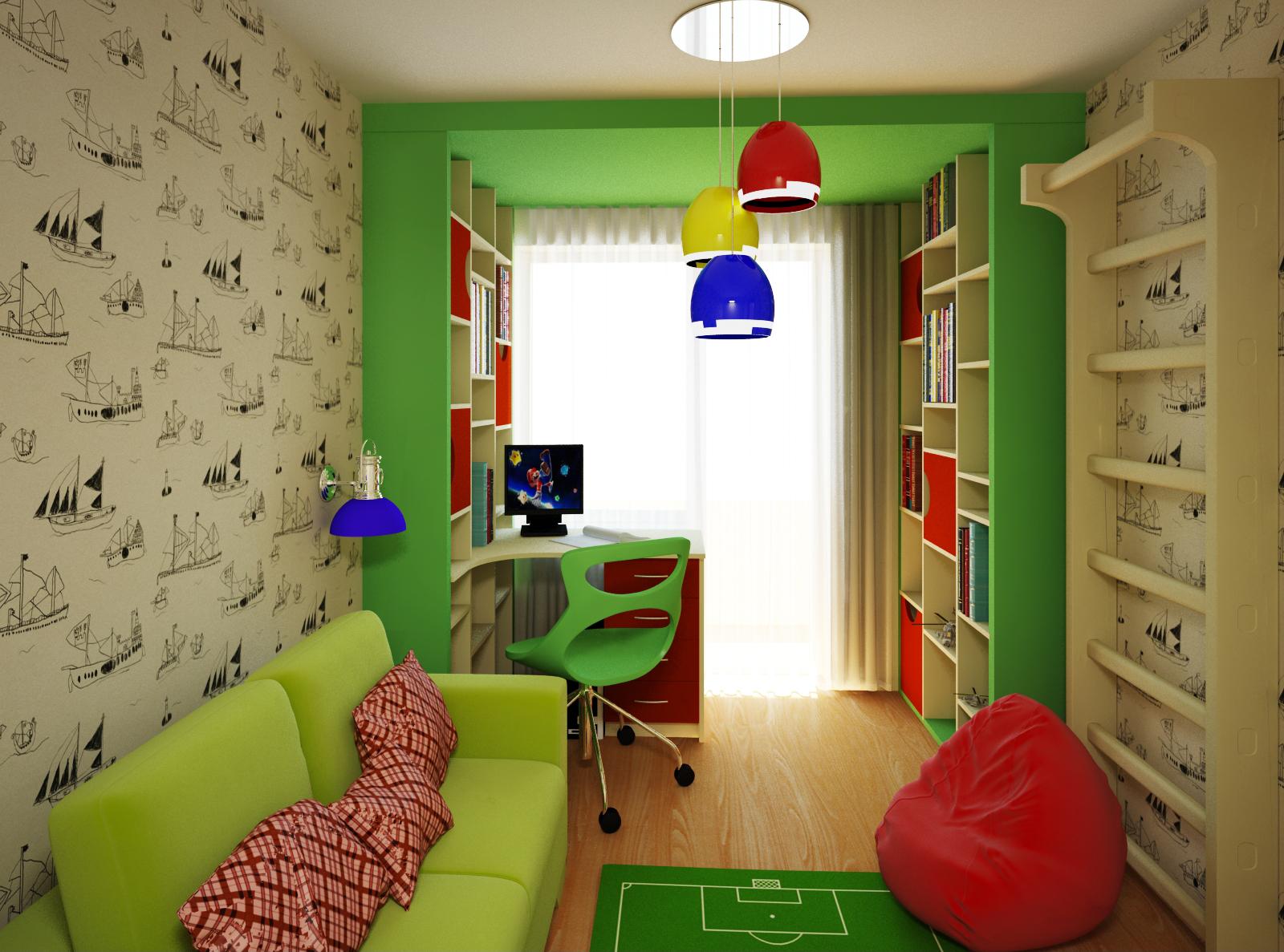 Ремонт детской комнаты для мальчика своими руками быстро и красиво