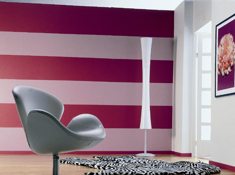 Покраска стен разными цветами и