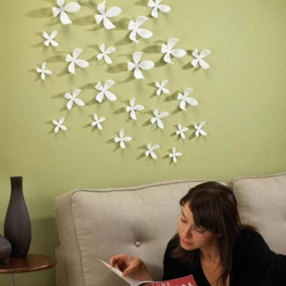 Как украсить стены дома своими руками