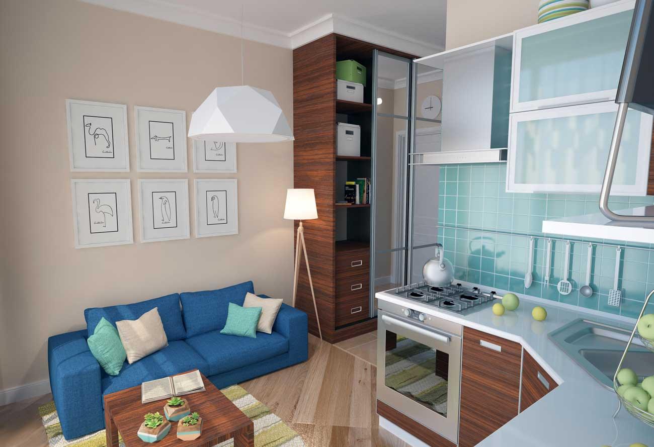 Дизайн для малометражной квартиры фото