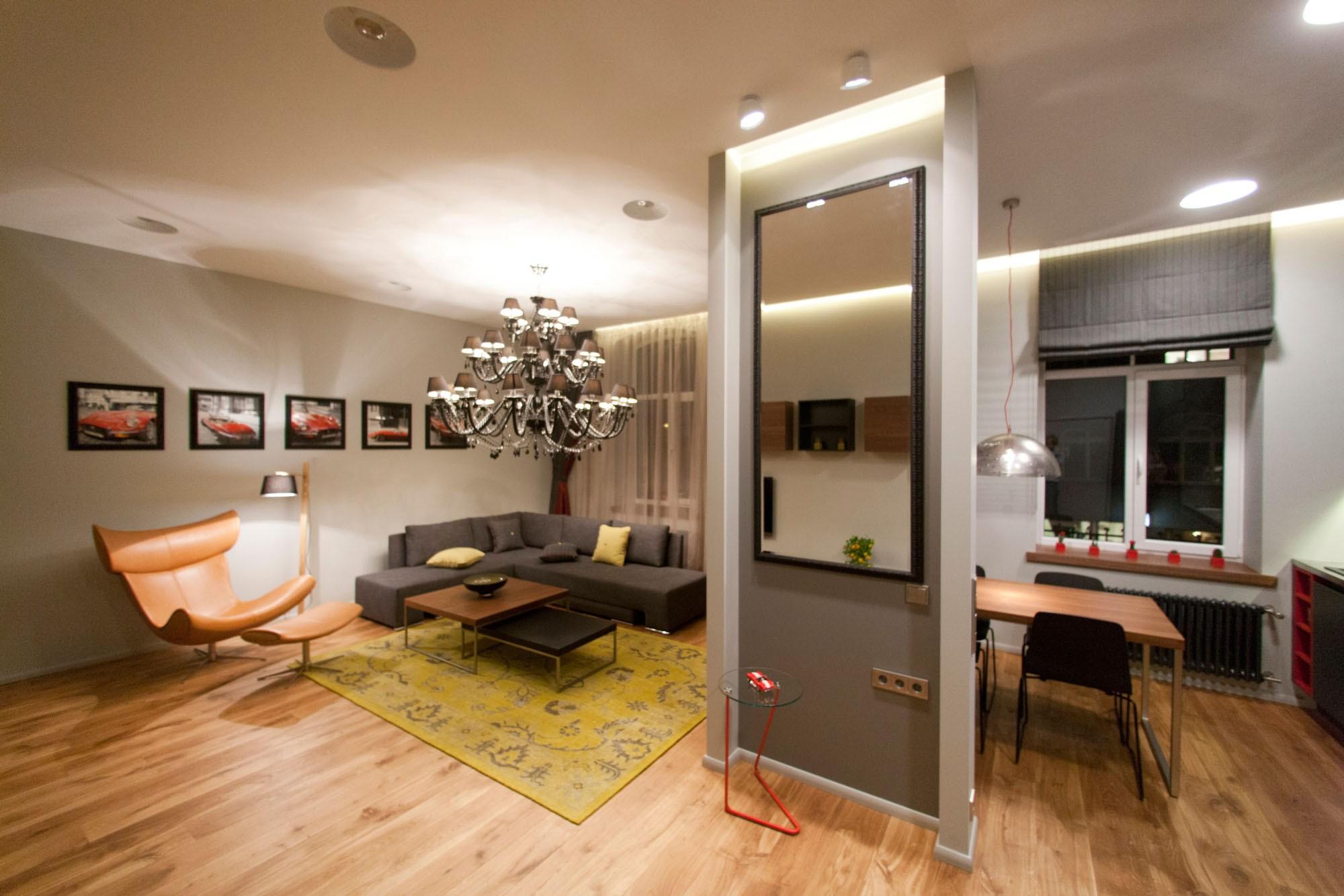 Квартира студия дизайн проект фото