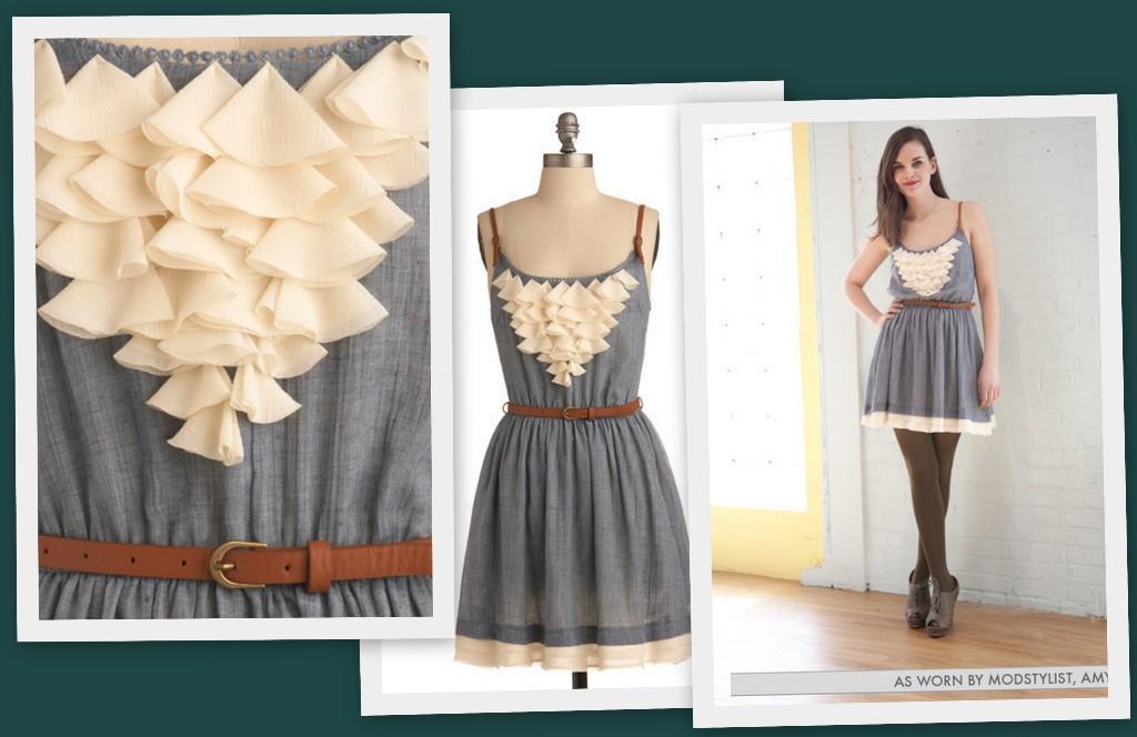 Украсить старые платья
