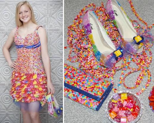 Украсим платье своими руками