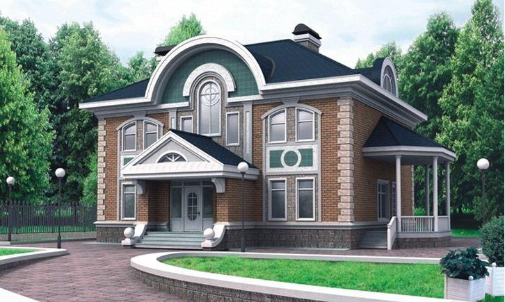 красивые фасад фото проекты