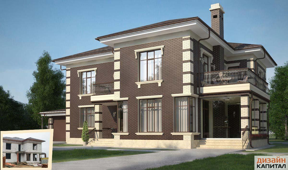 Отделка и дизайн домов фасад