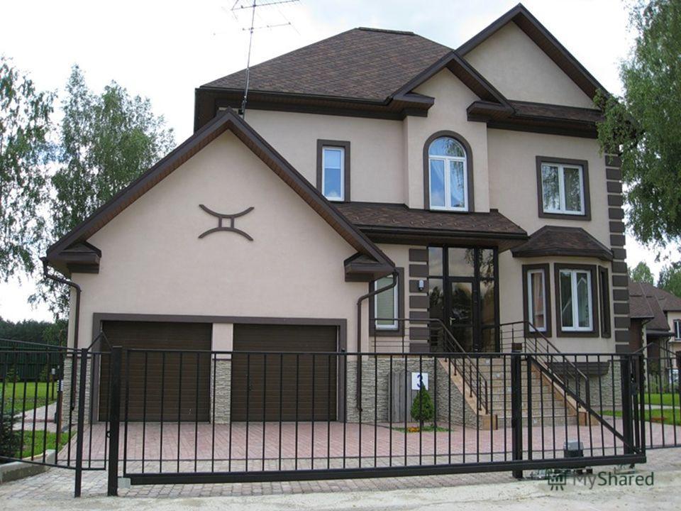 Как самому сделать фасад дома