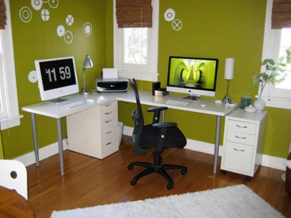 Как перекрасить компьютерный стол в белый цвет
