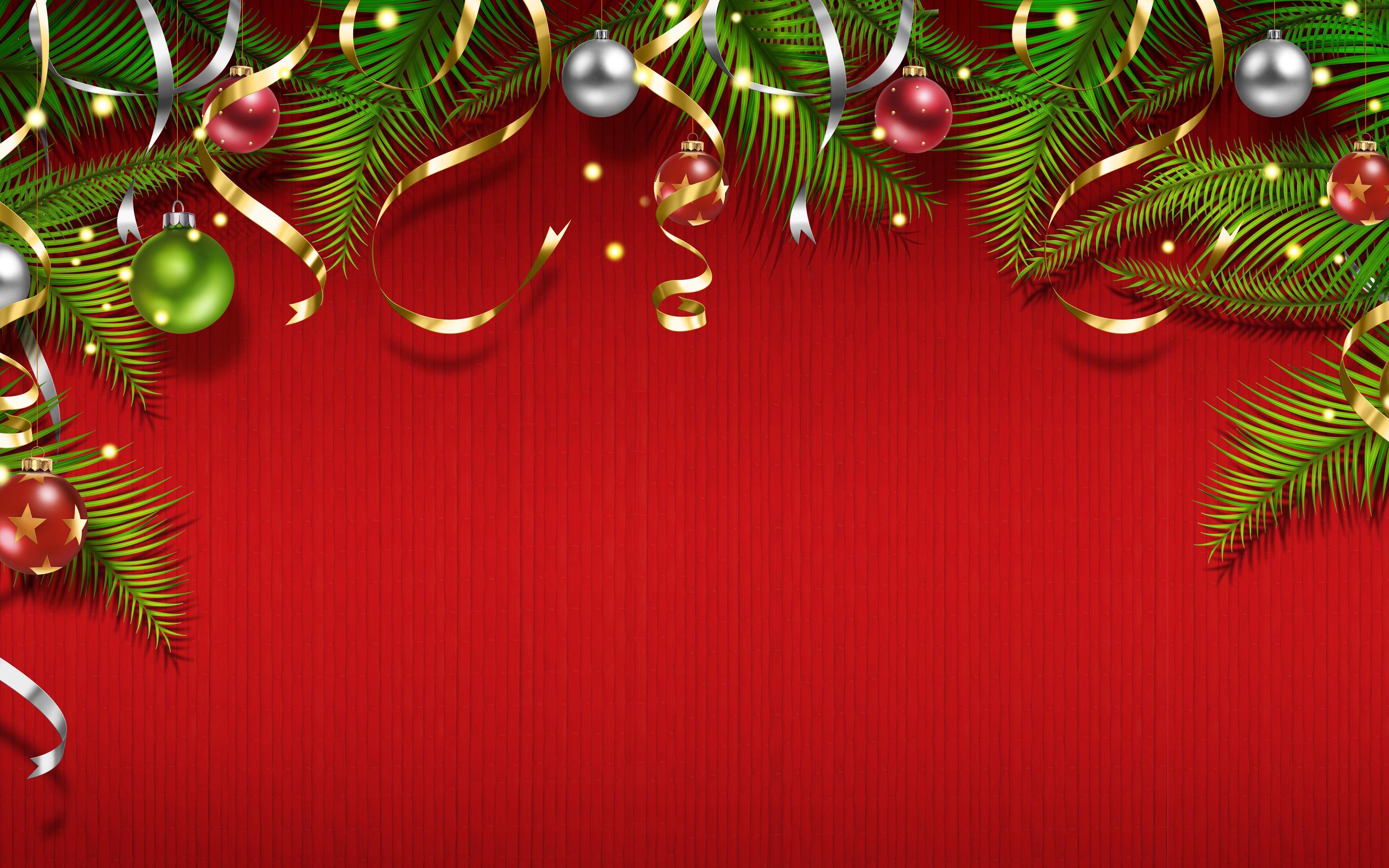 новогодние темы обои для рабочего стола № 579558 бесплатно