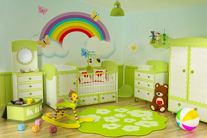 Как оформить детскую игровую комнату своими руками